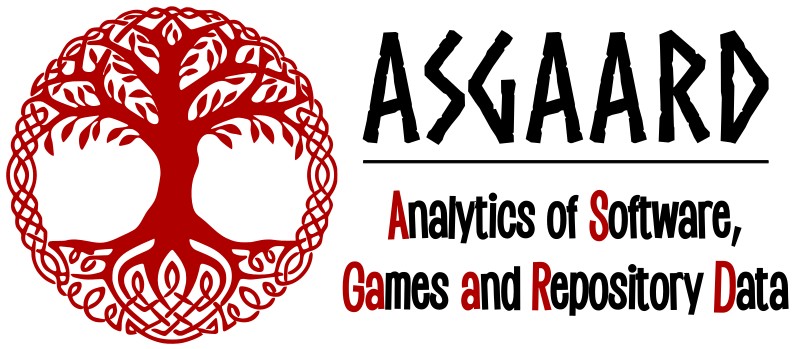 Analytics of Software, GAmes And Repository Data (ASGAARD) Lab Logo